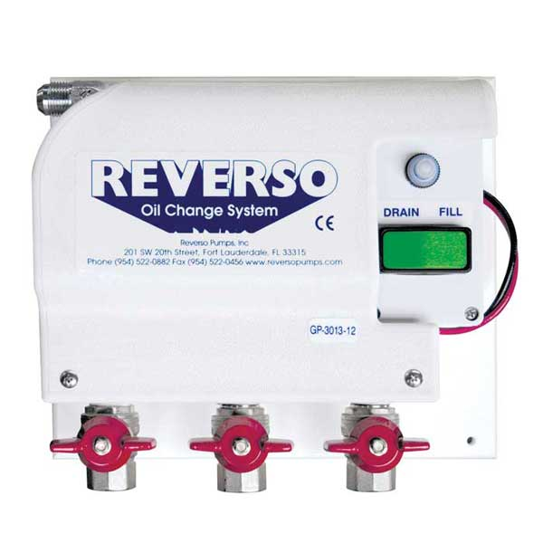Reverso GP-3010 Oil Change System with Gear Pump, 12V, Three Port