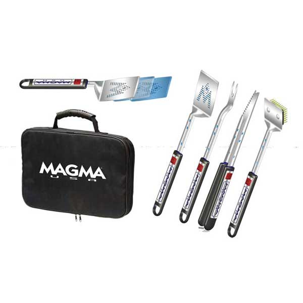 Magma 5-Piece Telescoping Stainless-Steel Grilling Tool Set Sale $77.99 SKU: 12794814 ID# A10-132T UPC# 88379103423 :