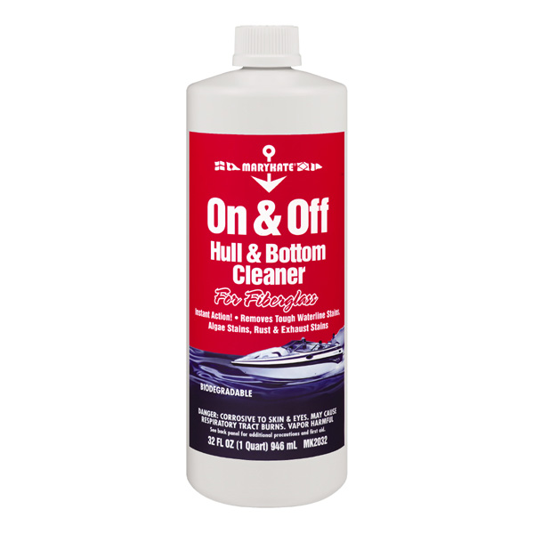 Marykate On & Off Hull/Bottom Cleaner - Quart