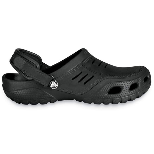 Crocs Men's Yukon Sport Comfortable Clogs, Black, 8