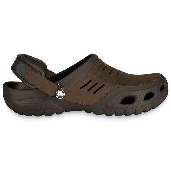 Crocs Men's Yukon Sport Comfortable Clogs, Brown, 10