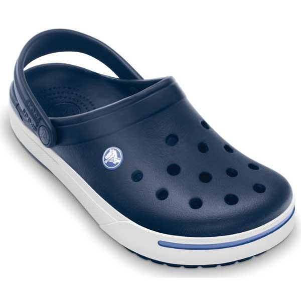 Crocs Crocband II Clog, Unisex, Navy, 5
