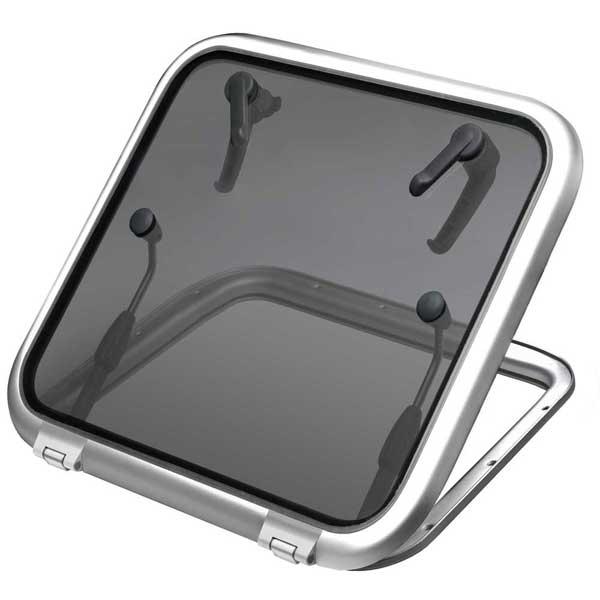 Vetus Denouden Satin Anodized Aluminum Hatch, Cutout Size 24 11/16 x 24 11/16