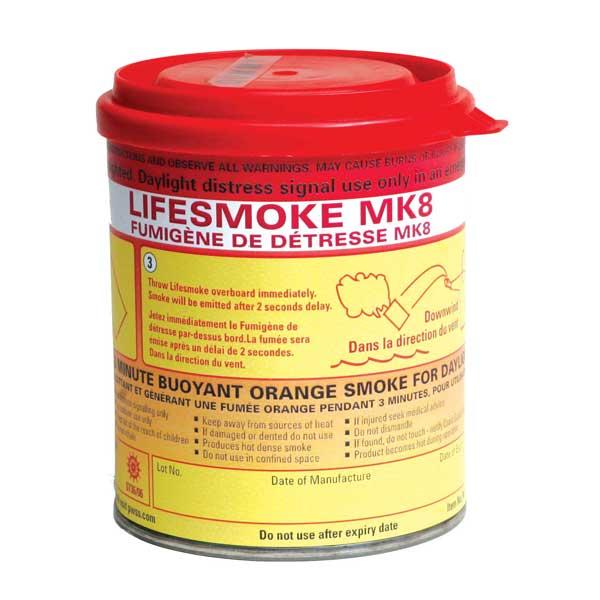 Pains Wessex Lifesmoke MK8 Orange Smoke SOLAS Signal