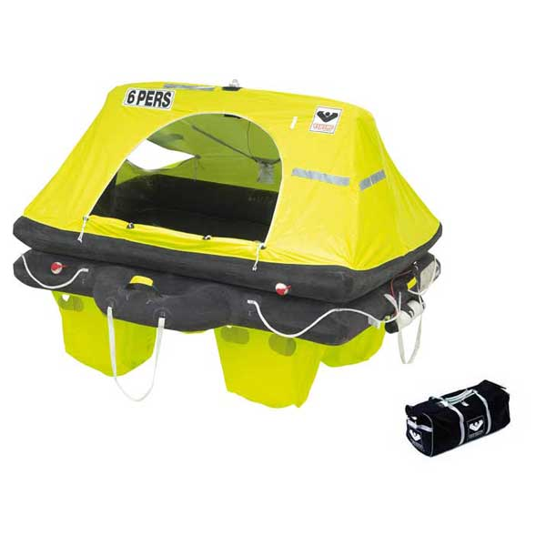 Viking RescYou ISO 9650-1/ISAF Life Raft, 8 Person, with Valise