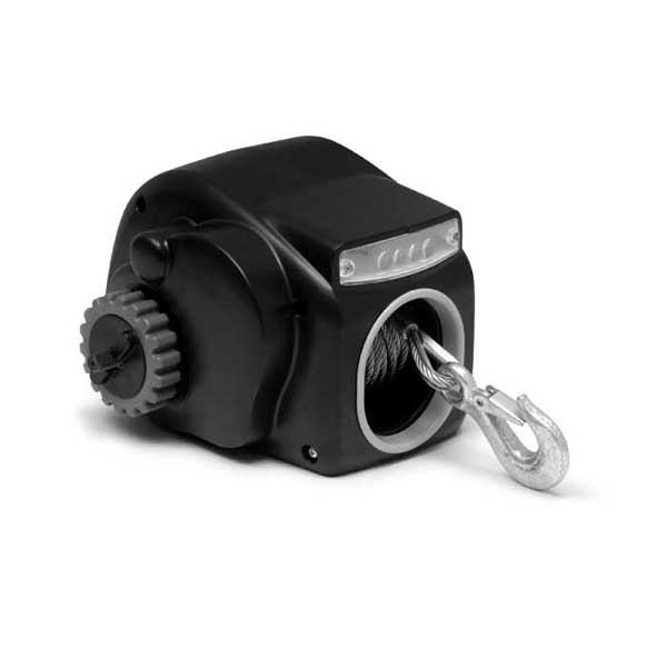 Trac Outdoor Products 12V Power Trailer Winch, Day Runner Winch, 2500lb.