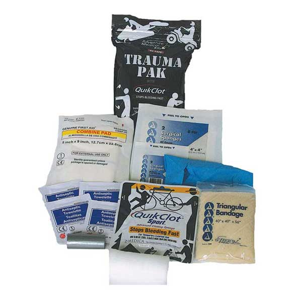Adventure Medical Trauma Kit with QuikClot Sale $29.99 SKU: 12895421 ID# 2064-0292 UPC# 707708202926 :
