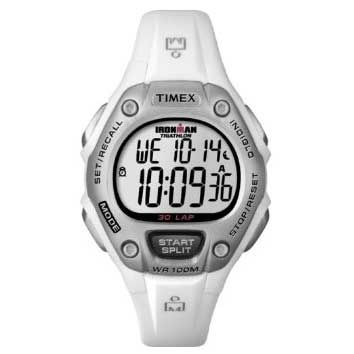 Women's Ironman Traditional 30-Lap Mid Size Watch, White