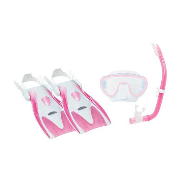 TUSA Molokini Dive Kit, Pink, Junior Sale $23.66 SKU: 12917399 ID# UP-1414P-M UPC# 685193459349 :