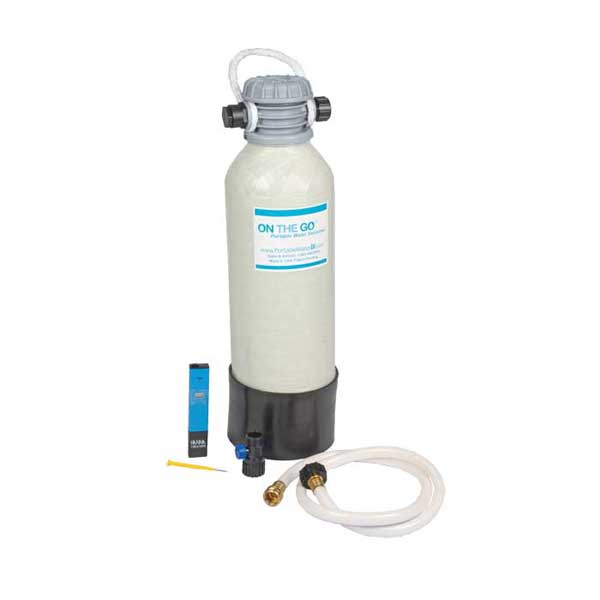 On The Go Portable Water Portable Water De-Ionizer, Mixed-Bed Standard