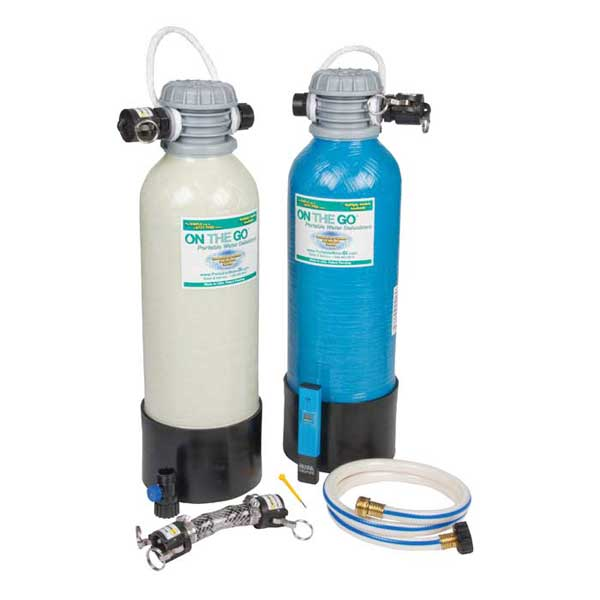 On The Go Portable Water Portable Water De-Ionizer, Dual-Bed Standard