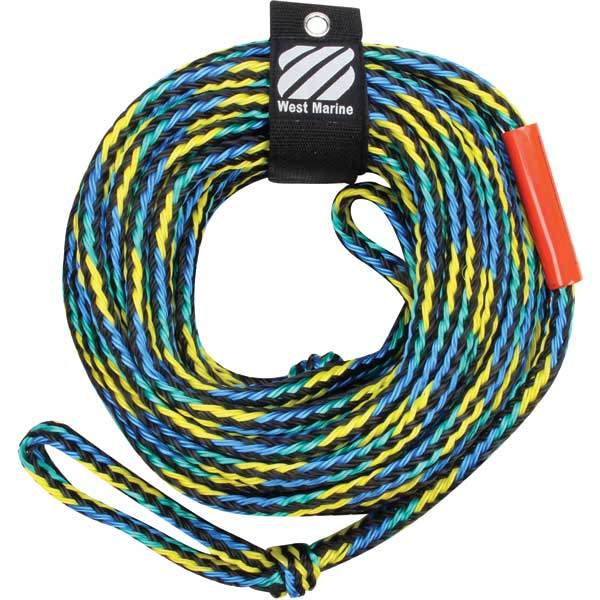 West marine 60 39 heavy duty towables tow rope west marine for Heavy rope for nautical use