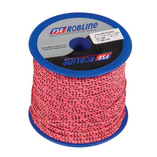 Fse Robline Polyester Braid Line Mini-Spool, 2mm, Pink/Black Line, 98' Sale $18.49 SKU: 12946810 ID# MR-2PNK UPC# 9011800094084 :