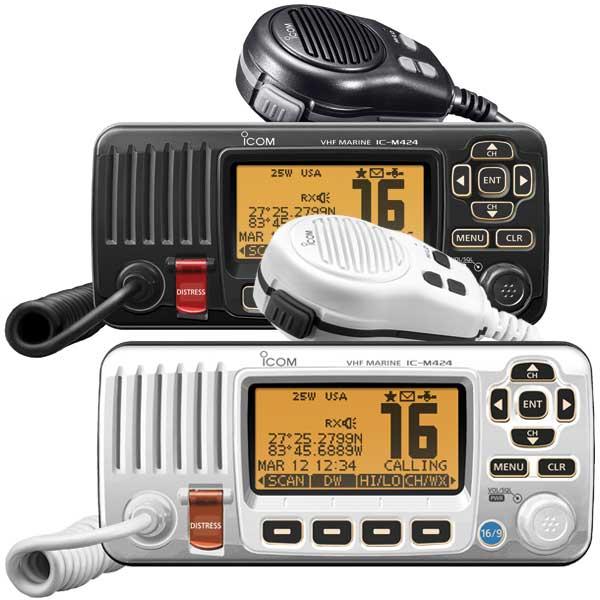 ICOM M424 DSC Fixed VHF Radio, White