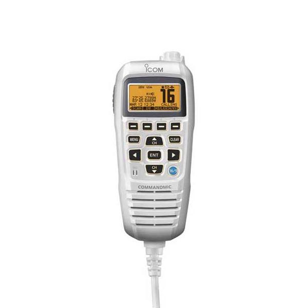 ICOM CommandMic IV, White Sale $199.99 SKU: 12960639 ID# HM195SW UPC# 731797011367 :