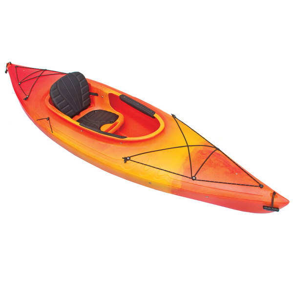 West Marine Saba 9 5 Sit Inside Kayak Yellow Orange