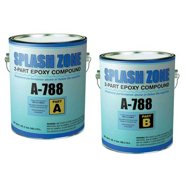 Z-spar A-788 Splash Zone Epoxy, Quart