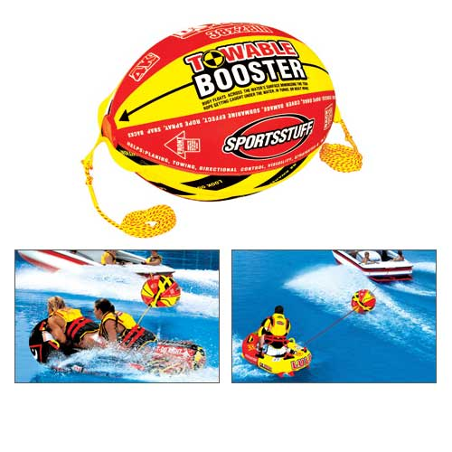 Sports Stuff 4k Booster Ball with Tow rope Sale $89.99 SKU: 12990511 ID# 53-2030 UPC# 29808009428 :