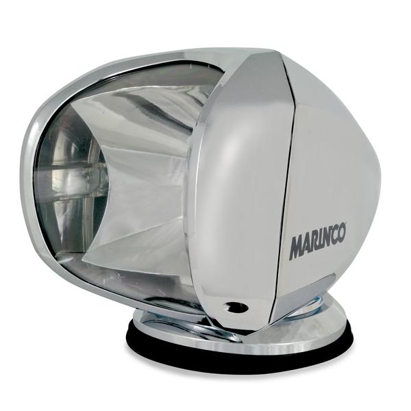 Marinco Precision Spotlight, Chrome Wireless Remote Spotlight, 12/24V Sale $299.99 SKU: 12998142 ID# SPL-12C UPC# 93344050961 :