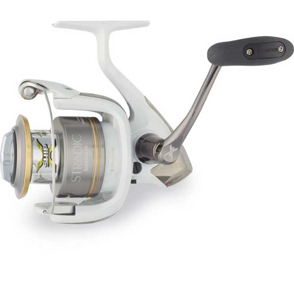 click for Full Info on this Shimano Stradic 4000fj Spinning Reel  20lb Drag  6.2:1gr  39'' Line Speed  10.8 Oz Weight  200/10lb Yds/tst