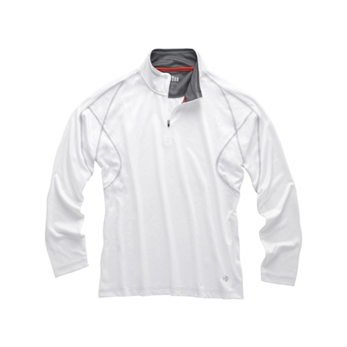 Men's UV Tech Zip-Neck Polo