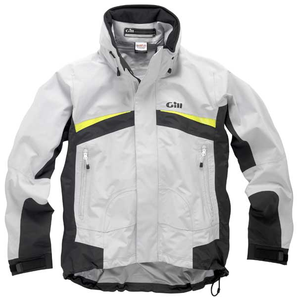 Men's Keelboat Racer Jacket, Silver, XS