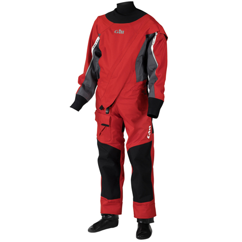 Gill Junior Breathable Pro Drysuit, Red, S