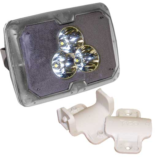 TACO Marine-Grade LED Spotlight with Clamp