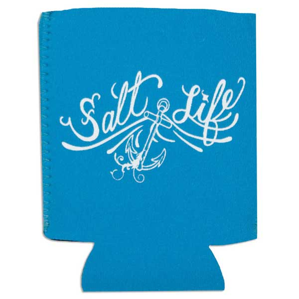 Salt Life Anchor Can Koozie, Turquoise
