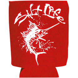 Salt Life Marlin Can Koozie, Red