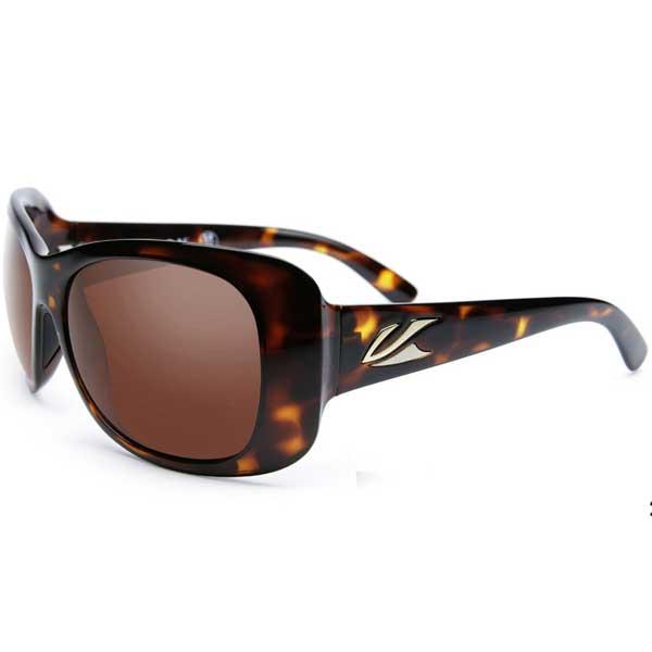 Kaenon Polarized Eden Sunglasses, Tortoise Brown Frames with Amber C12 Lenses