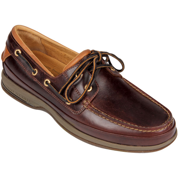 Men's Gold Cup Two-Eye Boat Mocs, Amaretto, 8M