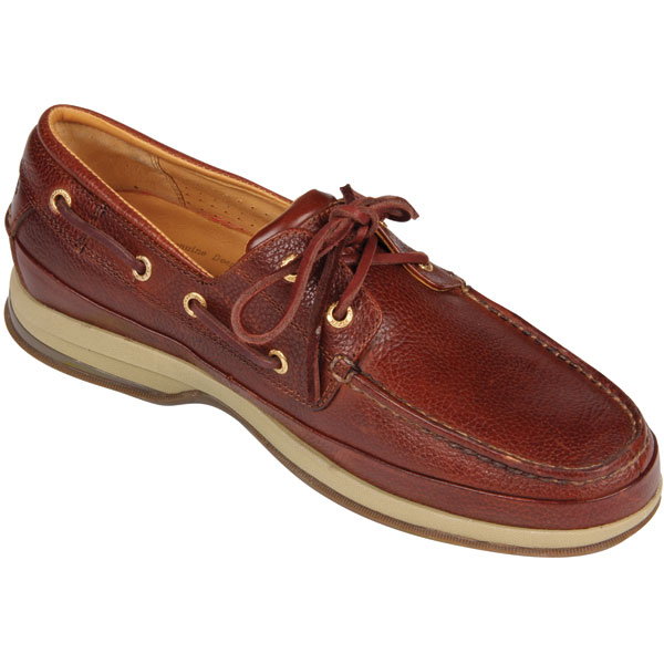 Sperry Mens Gold Cup ASV Two-Eye Boat Shoes, Cognac, 8W