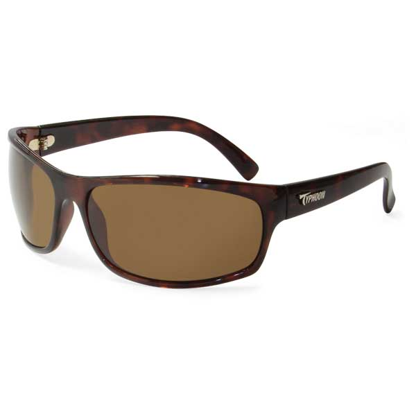 Typhoon Optic Harbor Sunglasses, Demi Frame with Sunset Brown Lenses