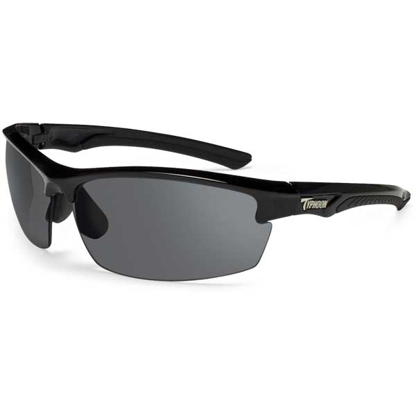Typhoon Optics Mariner Sunglasses, Shiny Black Frame with Horizon Gray Lenses Sale $64.99 SKU: 13047014 ID# 948TBK UPC# 45733019486 :