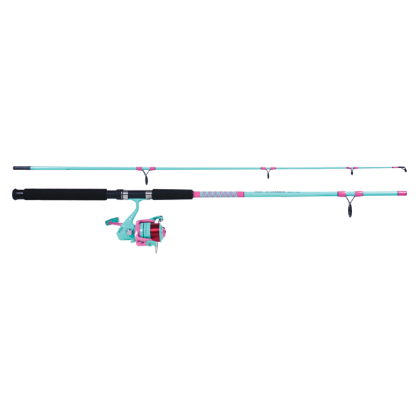 Sea Striker Ladies Salt Water Spinning Combo, 7', Medium, GR 5.2:1, Yds/Test 225/12lb.
