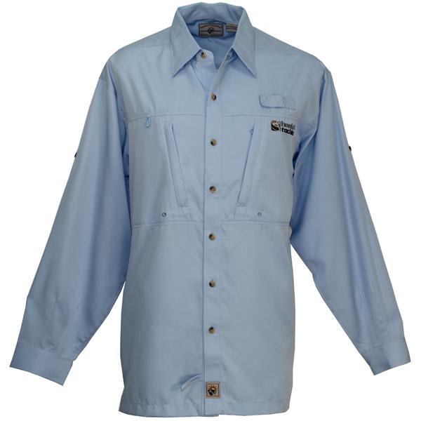 Hook & Tackle Men's Pierpoint Long-Sleeve Shirt Blue Sale $59.99 SKU: 13071519 ID# M01000L 215 S UPC# 753899448339 :