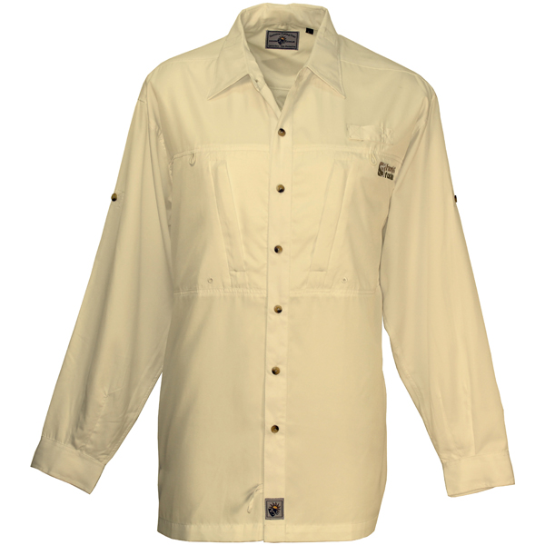 Hook & Tackle Men's Pierpoint Long-Sleeve Shirt Tan