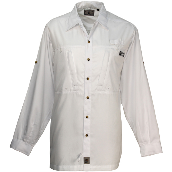 Hook & Tackle Men's Pierpoint Long-Sleeve Shirt White Sale $59.99 SKU: 13071469 ID# M01000L 001 S UPC# 753899448285 :