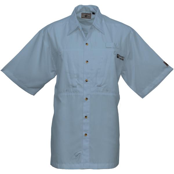 Hook & Tackle Men's Pierpoint Short-Sleeve Shirt Blue