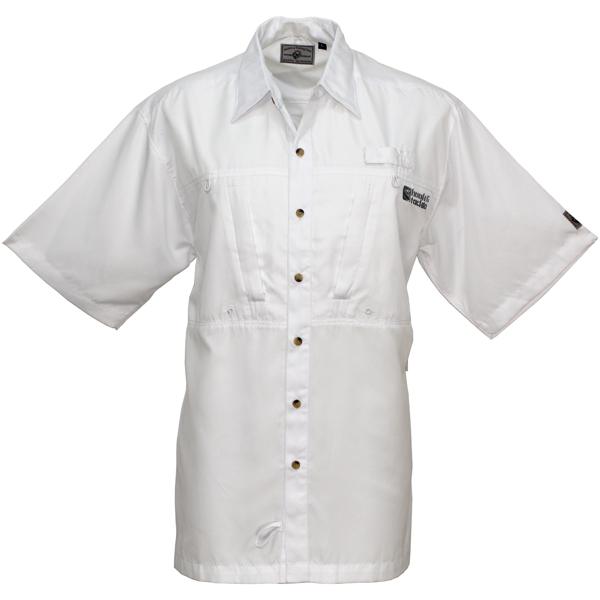 Hook & Tackle Men's Pierpoint Short-Sleeve Shirt White