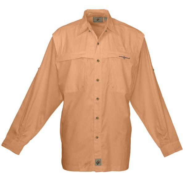 Hook & Tackle Men's Peninsula Long-Sleeve Shirt Orange