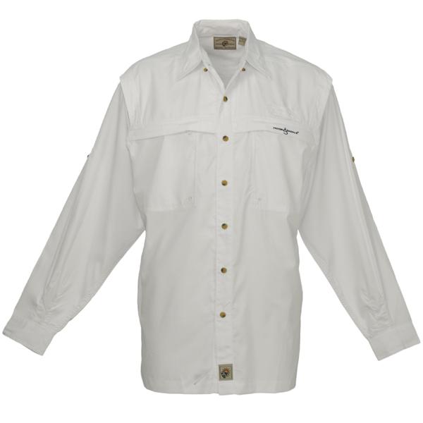 Hook & Tackle Men's Peninsula Long-Sleeve Shirt White Sale $59.99 SKU: 13073986 ID# M01015L 001 M UPC# 753899385283 :