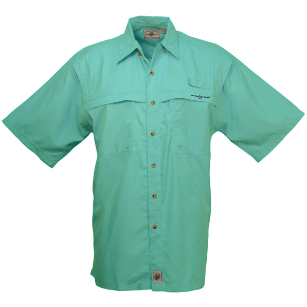 Hook & Tackle Men's Peninsula Short-Sleeve Shirt Turquoise Sale $54.99 SKU: 13074372 ID# M01015S 426 S UPC# 753899395251 :
