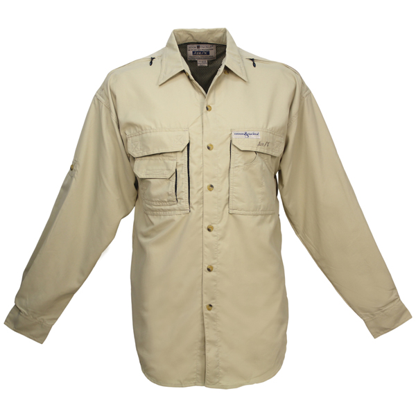 Hook & Tackle Women's Air/X Long-Sleeve Shirt Tan