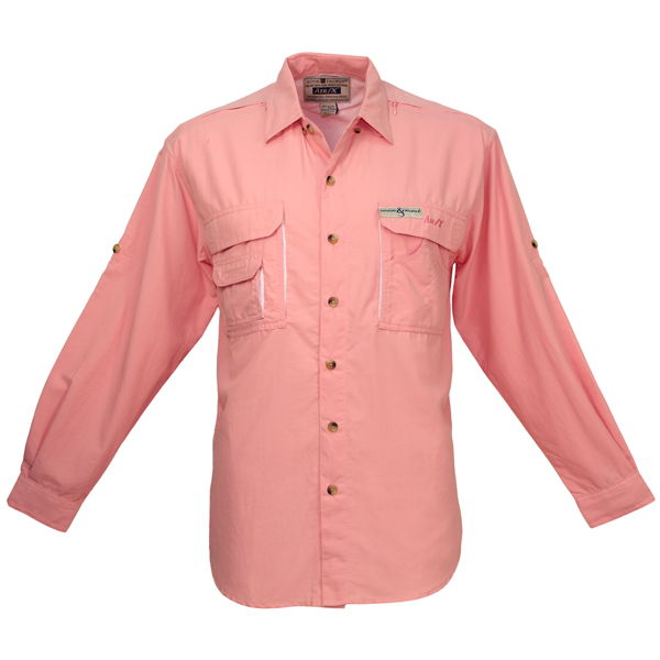 Hook & Tackle Women's Air/X Long-Sleeve Shirt Pink