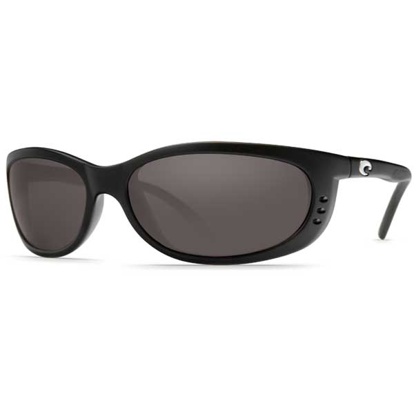 Costa Fathom Sunglasses, Black/gray Frames with 580P Gray Lenses