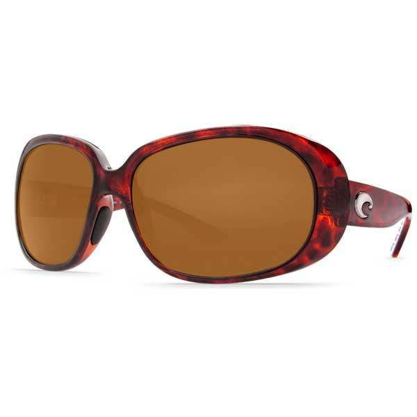 Hammock Sunglasses, Tortoise Frames with Costa 580 Amber Plastic Lenses Tortoise/amber