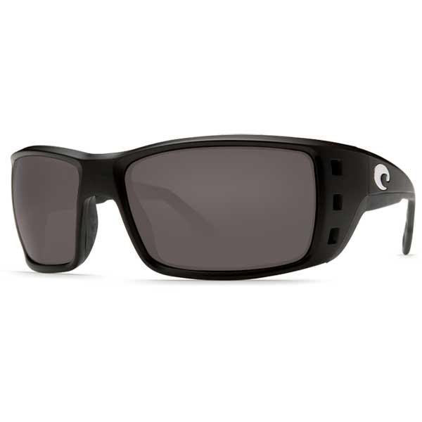 Permit Sunglasses, Black/gray Frames with Costa 580 Gray Plastic Lenses