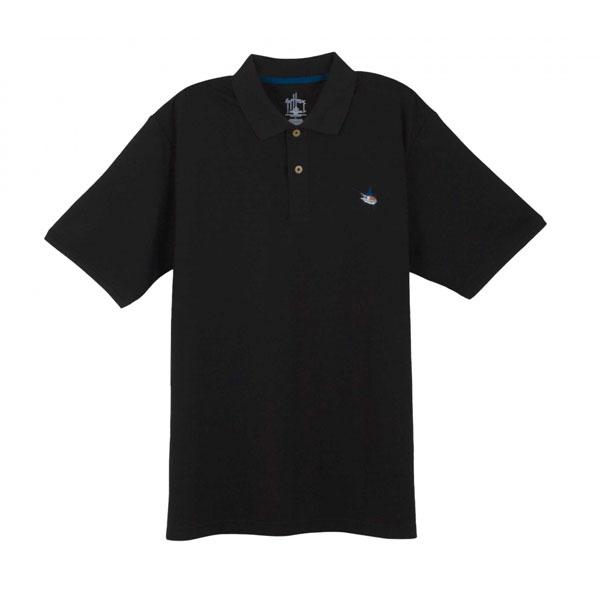 Guy Harvey Men's Pique Polo Shirt, Black, M Sale $59.99 SKU: 13087069 ID# MH63001-BLK-M UPC# 54683310253 :